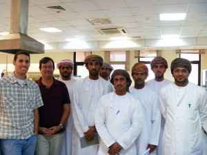 NCCOS & Omani scientists meet at their lab in Muscat