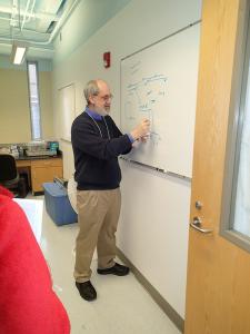 wayne litaker on the whiteboard