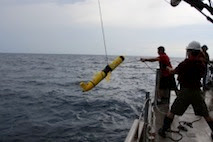 research team recovers Slocum glider