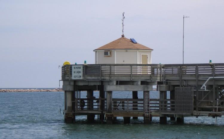 University of Texas pier at Port Aransas