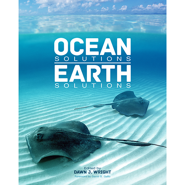 Ocean Solutions, Earth Solutions includes 16 peer-reviewed papers presented in chapters that showcase the latest and best ocean and coastal science using spatial analysis and GIS. Cover courtesy of ESRI.