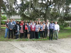 Participants of Workshop on the Validation, Performance, and Regulatory Application of Receptor Binding Assays at NOAA Charleston (CCEHBR) Laboratory. Photo Credit: NOAA