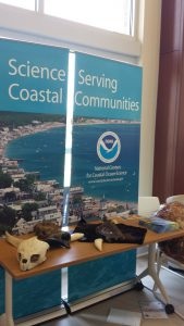 NCCOS display at Lowcountry My Brother's Keeper Summer Camp. Credit NOAA