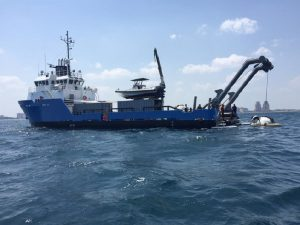 R/V Baseline Explorer will serve as the support vessel and home of the explorers while underway. Credit: Project Baseline/Brownie's Global Logistics.