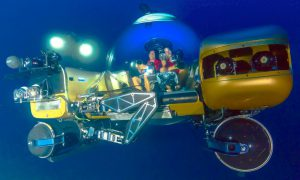 Triton submersibles will serve as the primary means of collecting data from the wreck. Image courtesy of Project Baseline/ Brownies Global Logistics.