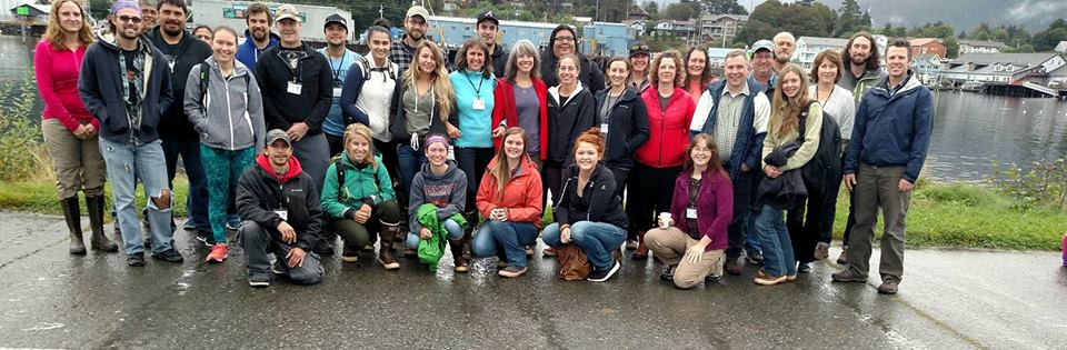 Participates of the Southeast Alaska Tribal Toxin Partnership Workshop held in Sitka, Alaska. Credit: NOAA NCCOS