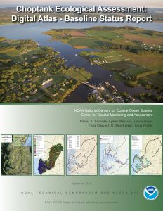 Choptank ecological assessment digital atlas available for Choptank river fishing report