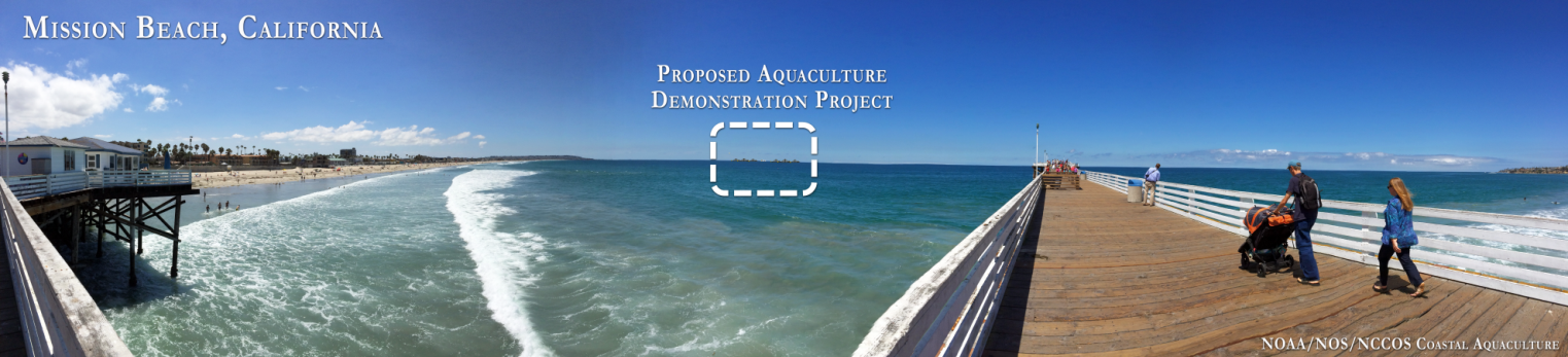 A CanVis simulation of an offshore aquaculture demonstration project reveals that the farm would have minimal impact on shoreline vistas. Tools such as CanVis can be used to support proper siting of aquaculture projects.