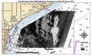 NCCOS, Partners Map Unexplored Areas of Western Lake Michigan