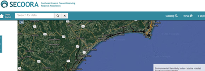 SECOORA Planning Portal for the Southeast US