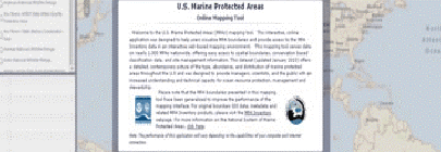 U.S. Marine Protected Areas Online Mapping Tool