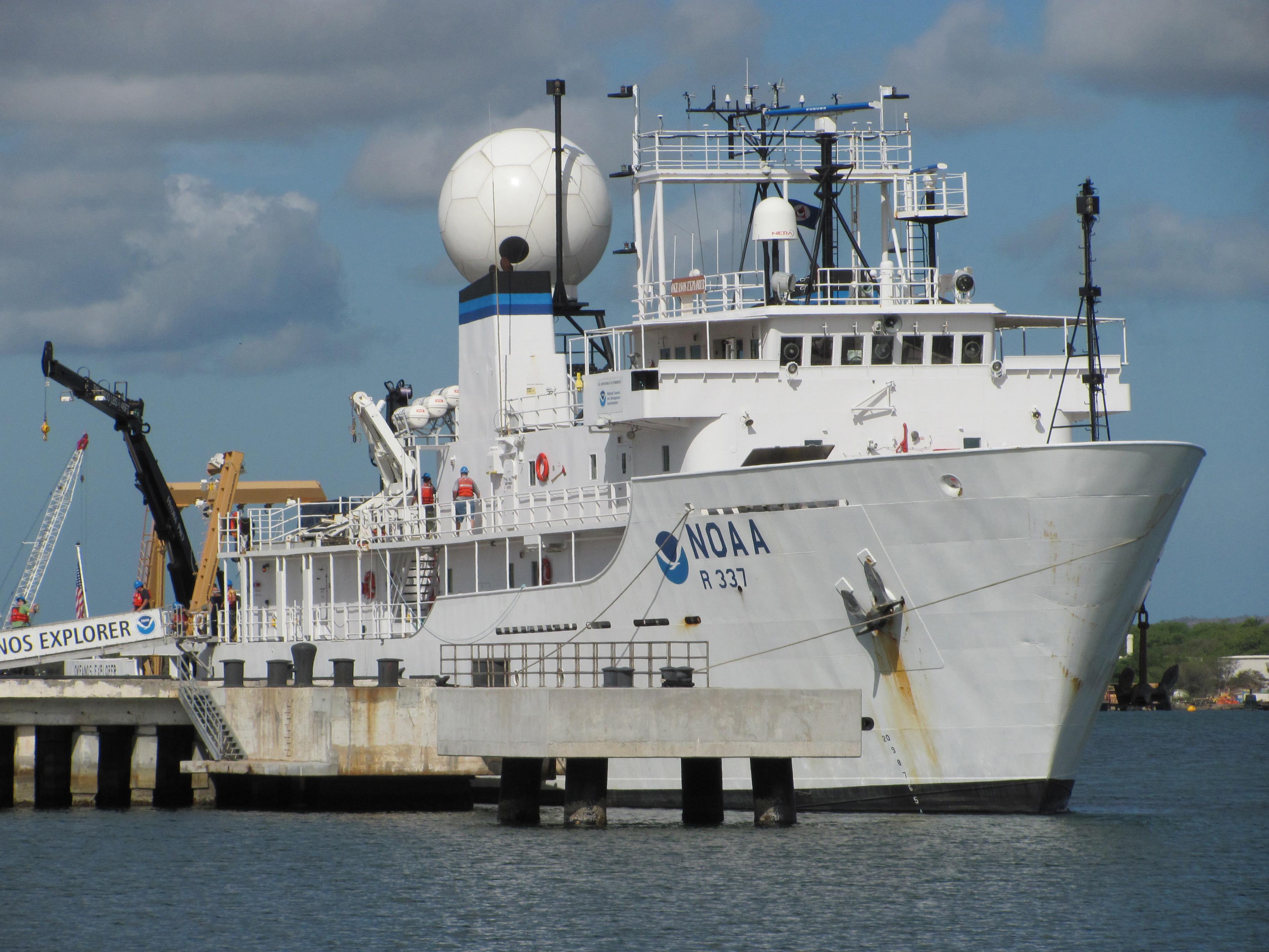 image of NOAA Ship Okeanos Explorer.