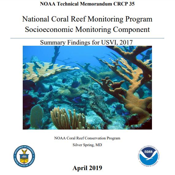 Report Describes Socioeconomics of Human Communities Adjacent to USVI's Coral Reefs