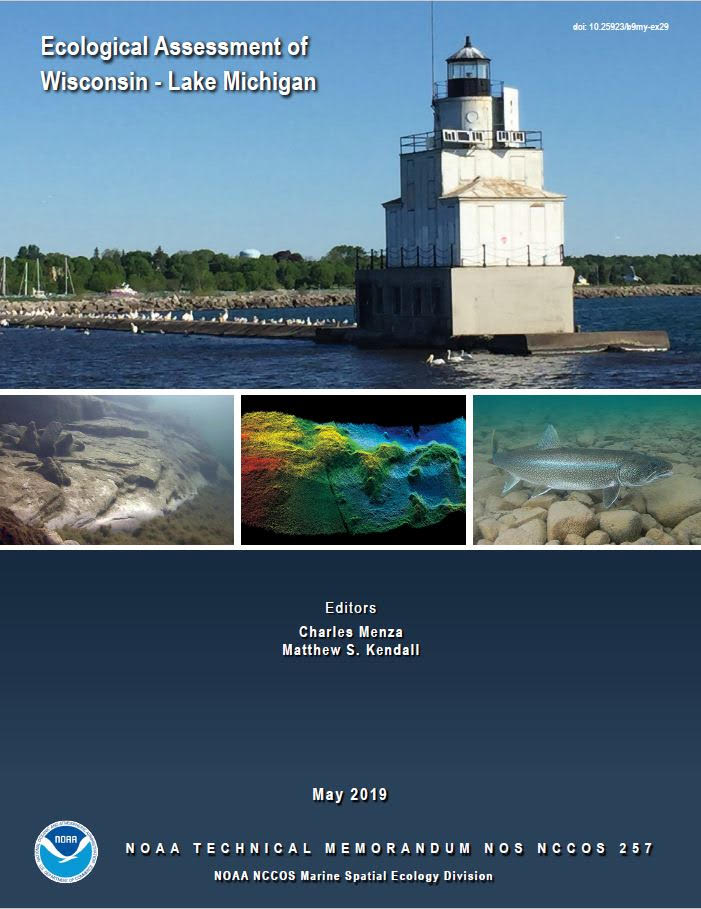 NCCOS, Partners Publish Ecological Assessment of Wisconsin – Lake Michigan