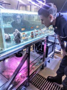 U.S. Coast Guard Tours NCCOS's Charleston Laboratories