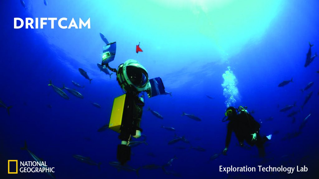 image of the Driftcam, camera system developed by the National Geographic Society to capture high-resolution photos in the deep sea