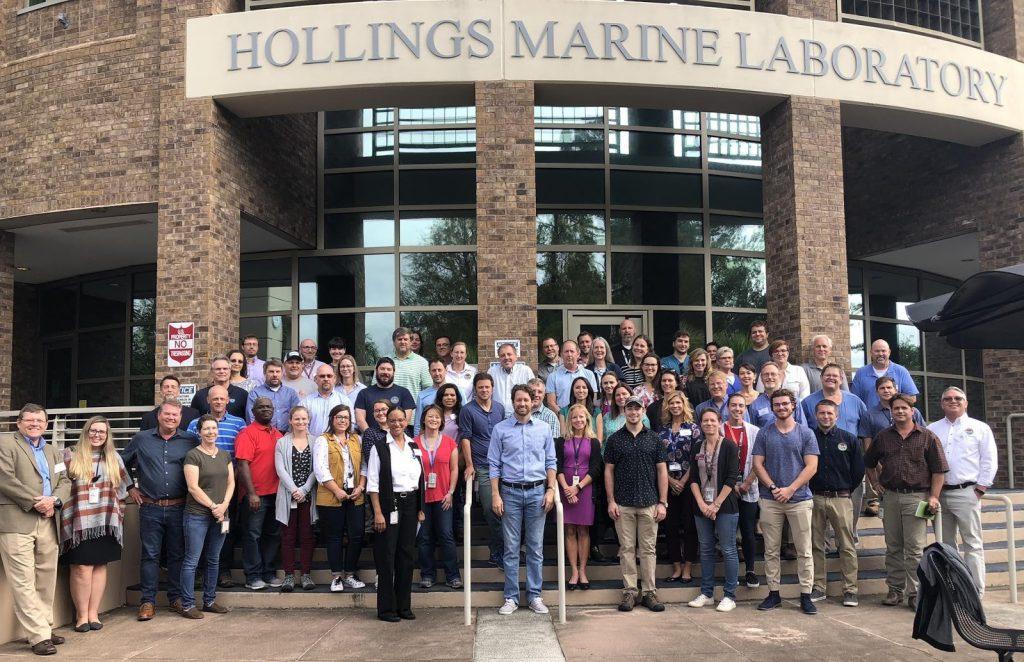 NCCOS South Carolina Marine Labs Host Congressman Joe Cunningham