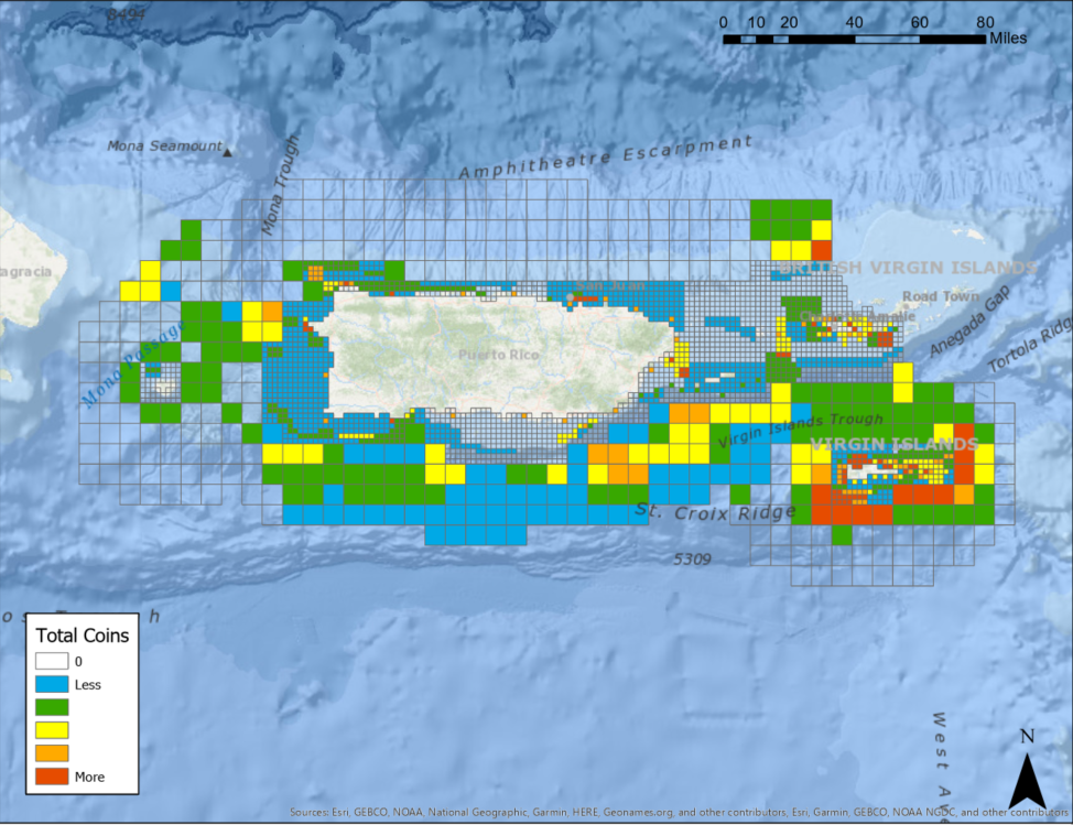Analysis Completed for US Caribbean Spatial Prioritization