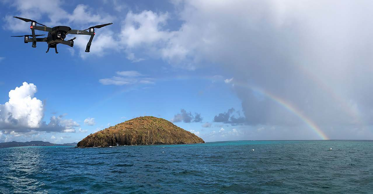 Guidelines Published for Using Aerial Drones to Map Nearshore Coastal Seafloor
