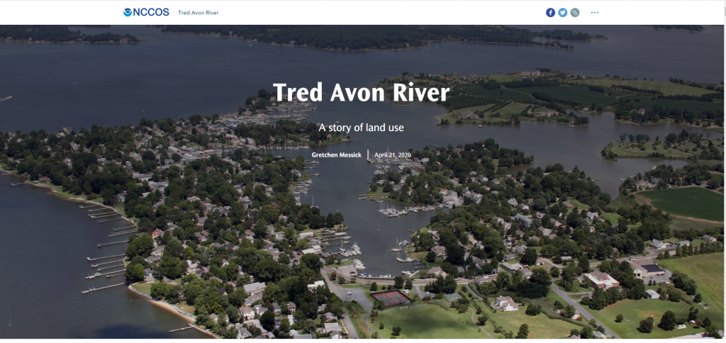 Tred Avon River Coastal Ecological Assessment: A Story of Land Use (Story Map)