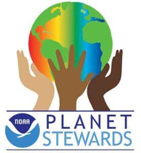 NOAA Planet Stewards logo