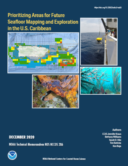 NCCOS Releases Priorities for U.S. Caribbean Seafloor Mapping and Exploration