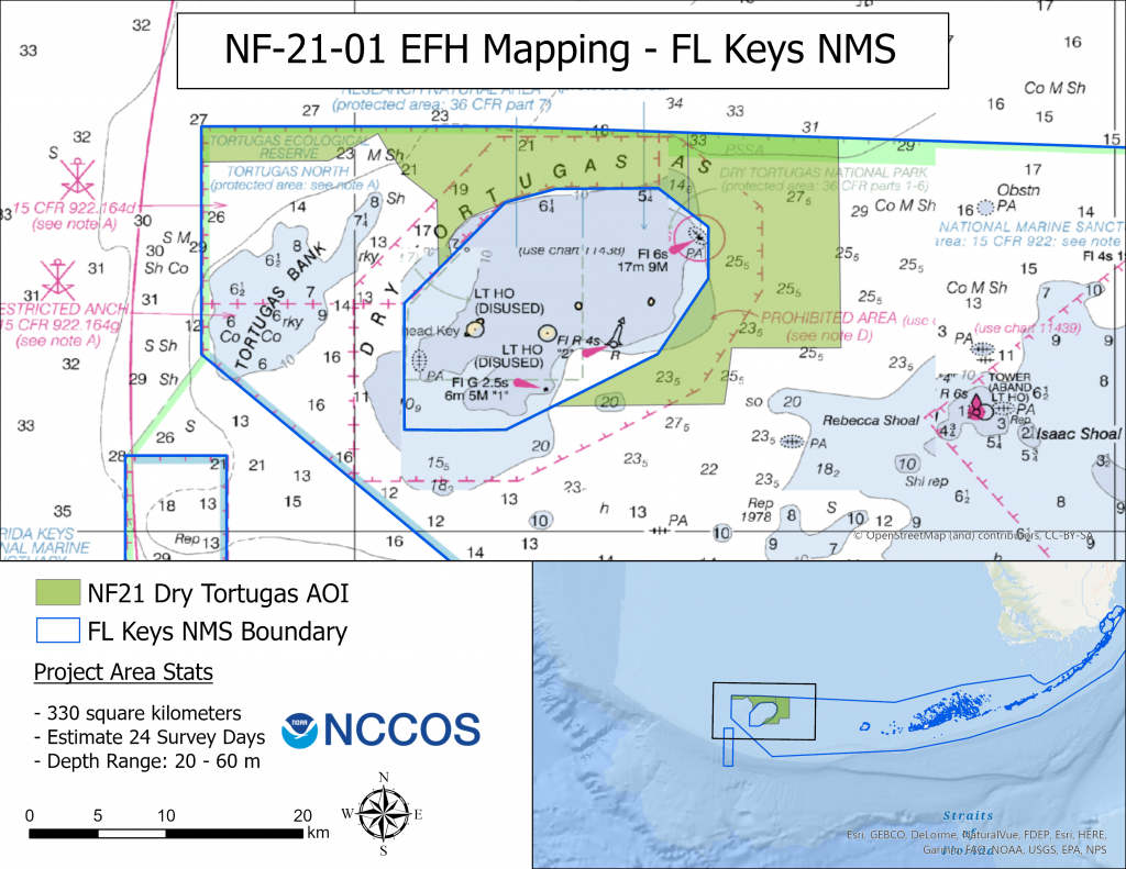 NOAA Continues to Survey Essential Fish Habitat in Florida Keys National Marine Sanctuary