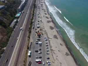 Human Influences on Beach Loss (and Growth) in Orange County, California