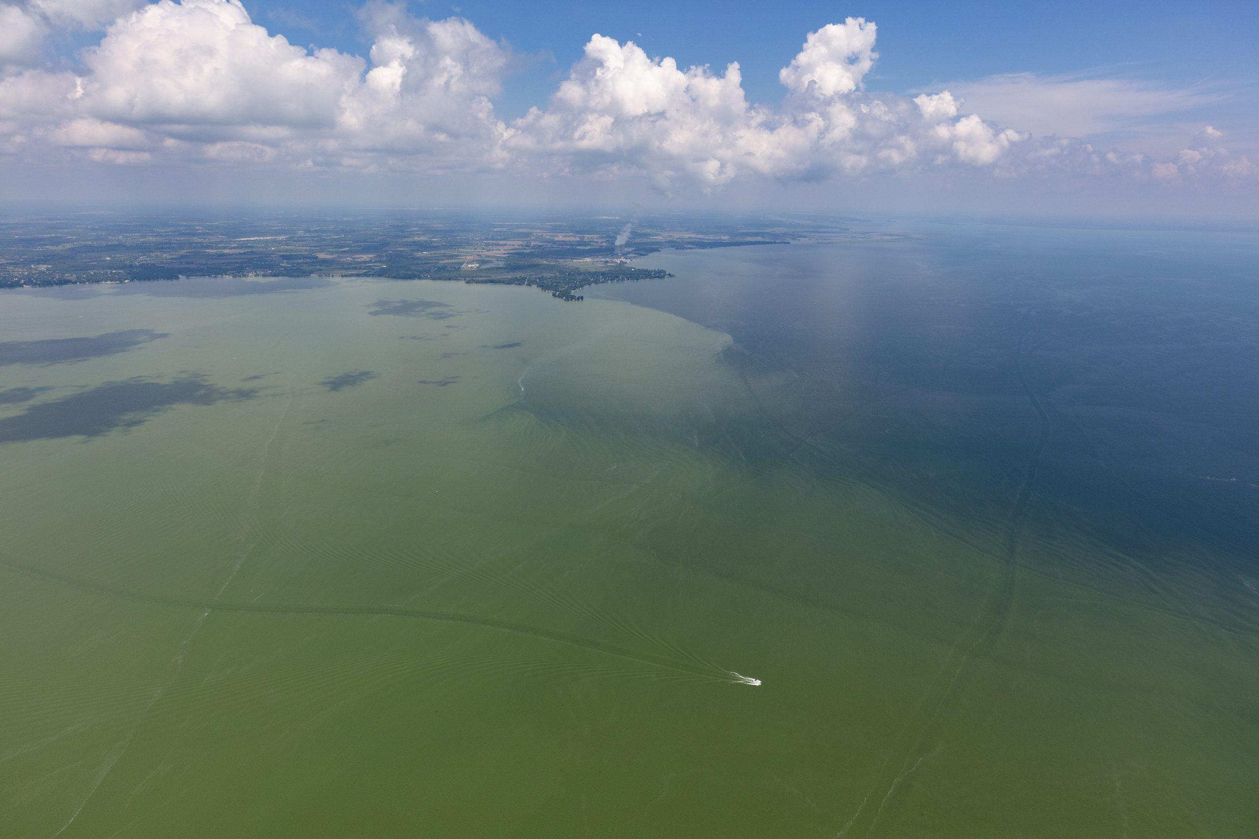 Smaller Harmful Algal Bloom Predicted for Western Lake Erie in Summer 2021