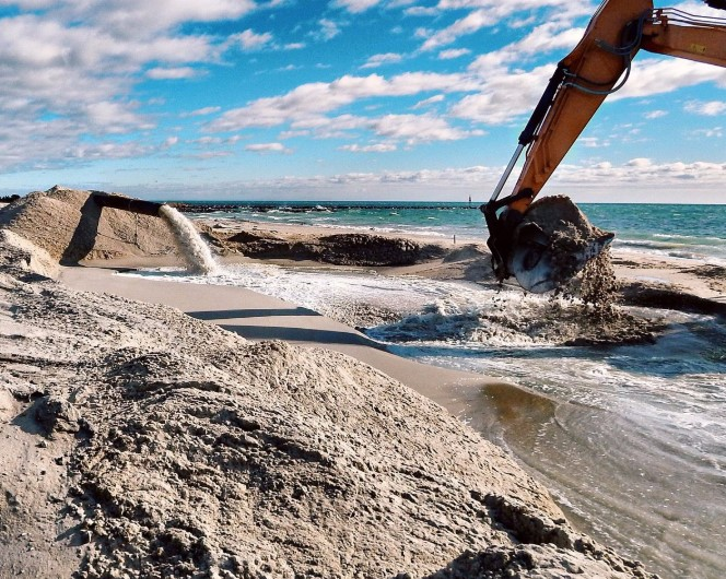 Evaluating the Long-term Effect of Nourishing Dauphin Island Beaches