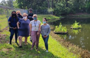 NOAA Charleston Planet Stewards Students Complete Water Quality Improvement Project